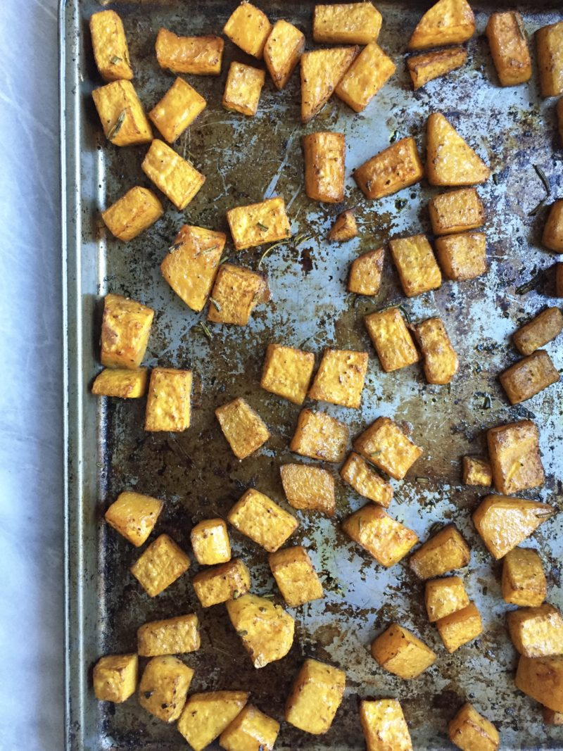 Roasted Butternut Squash: How to & Recipe