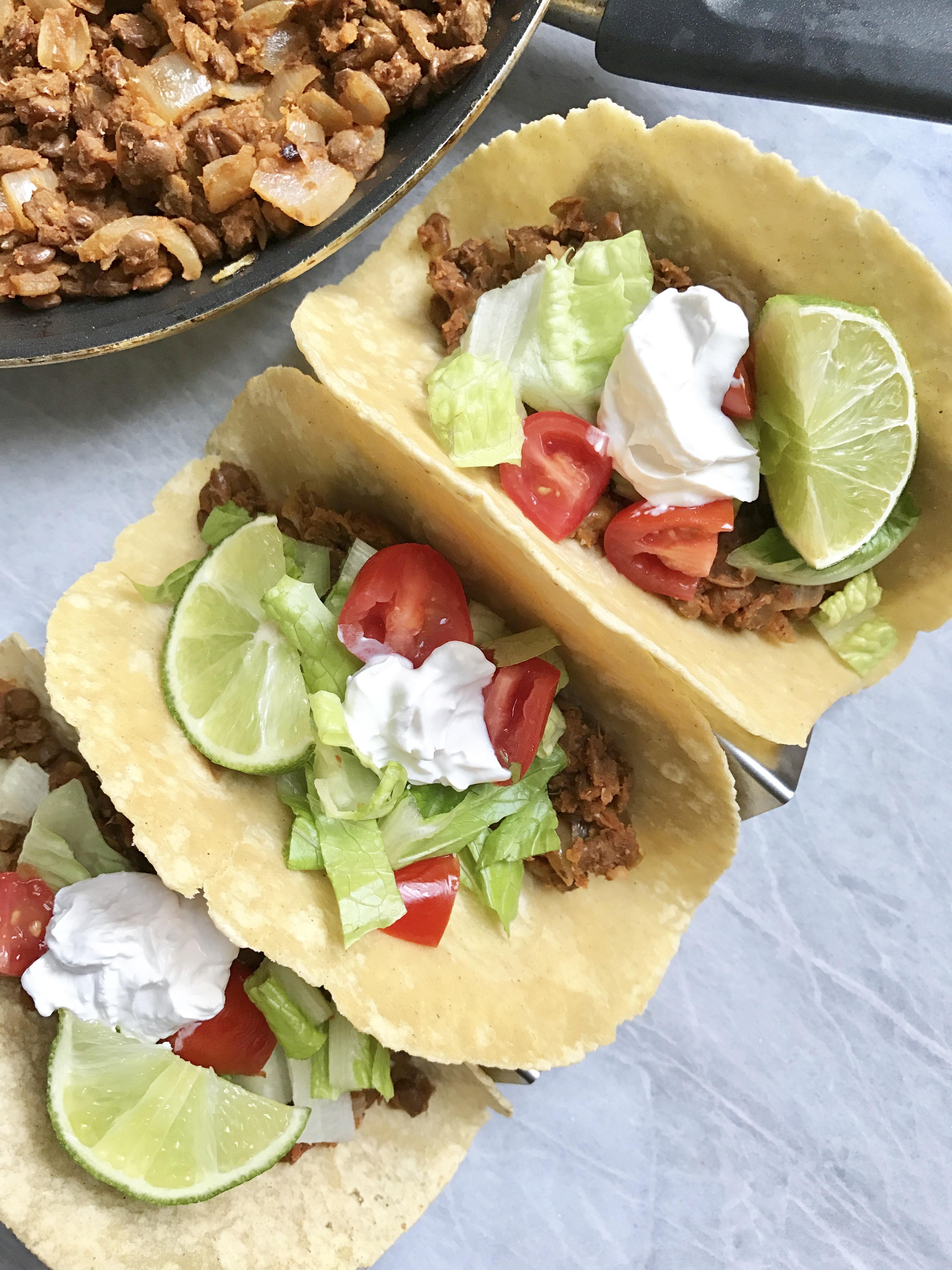Lentil Taco Meat