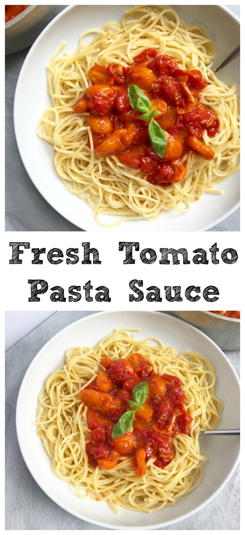 how to cook tomato sauce pasta