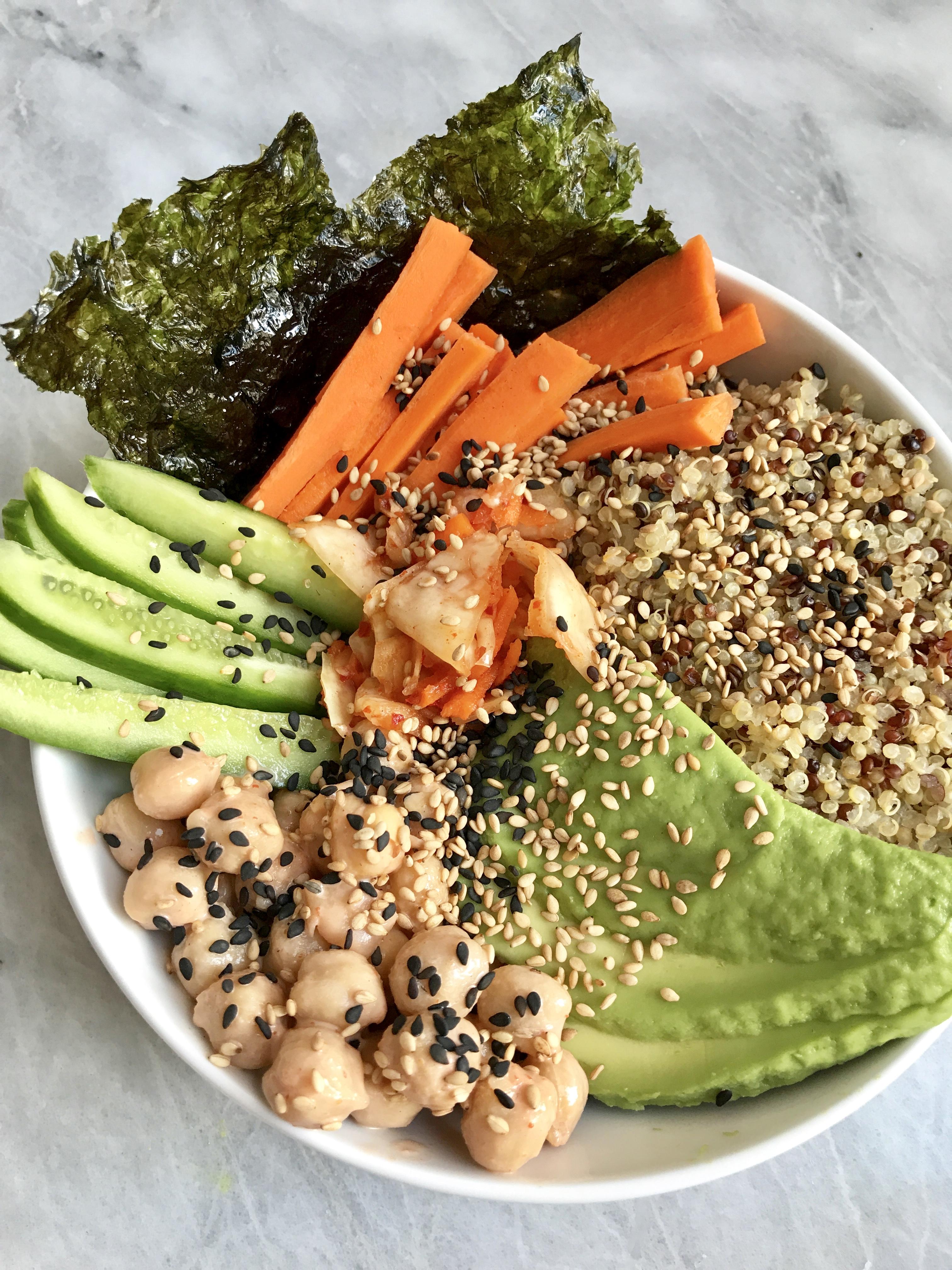 Quinoa Sushi Bowls