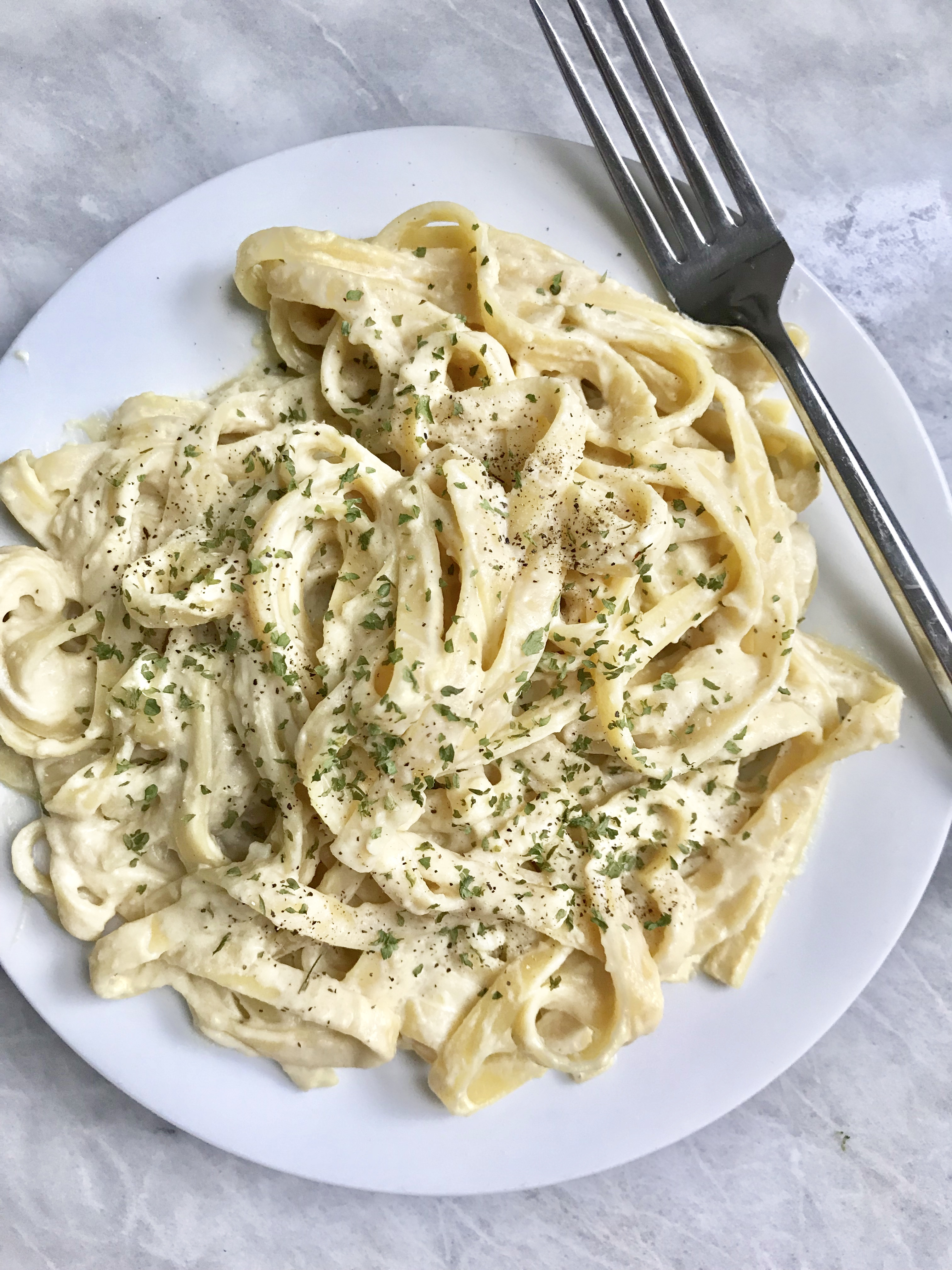 Cauliflower Alfredo Sauce *Updated*