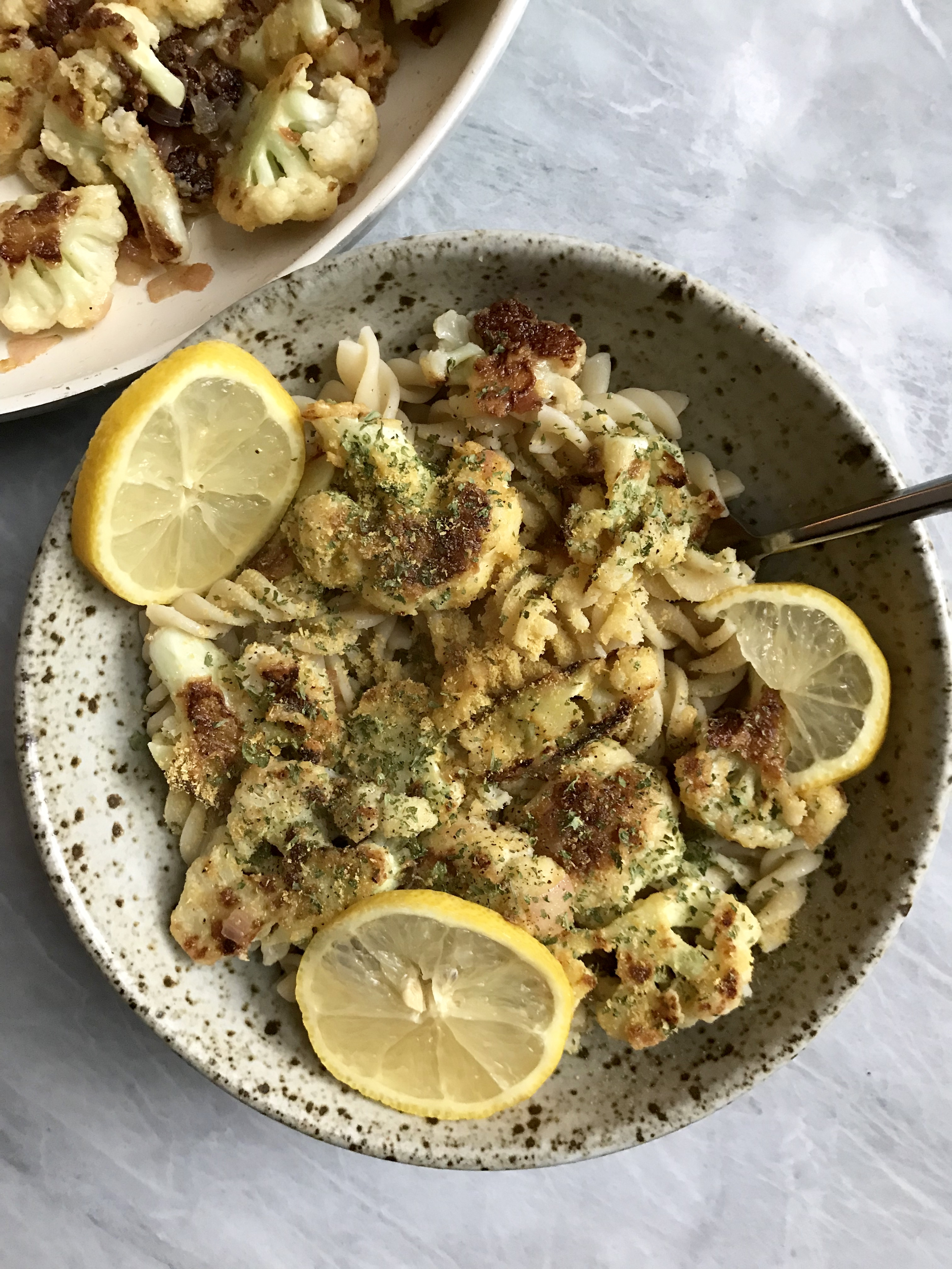 Crispy Lemon Cauliflower