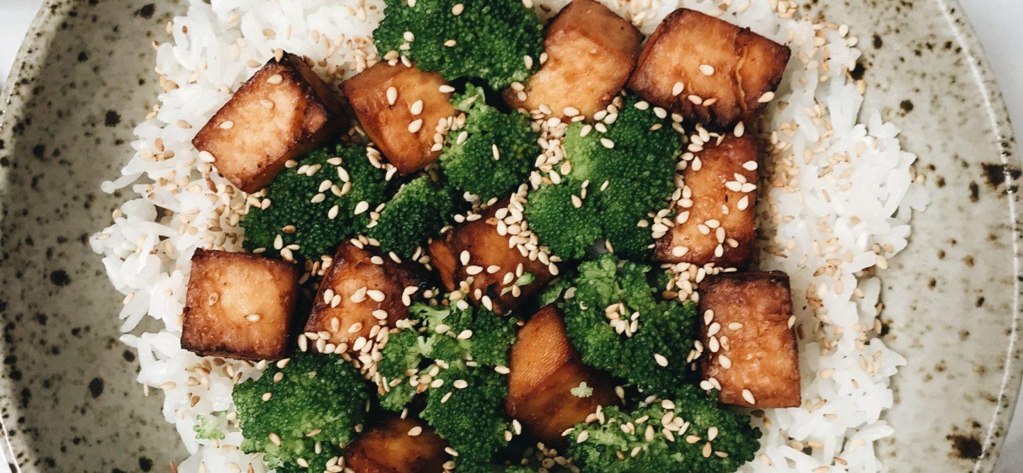 Sesame Soy Tofu *Air Fried*
