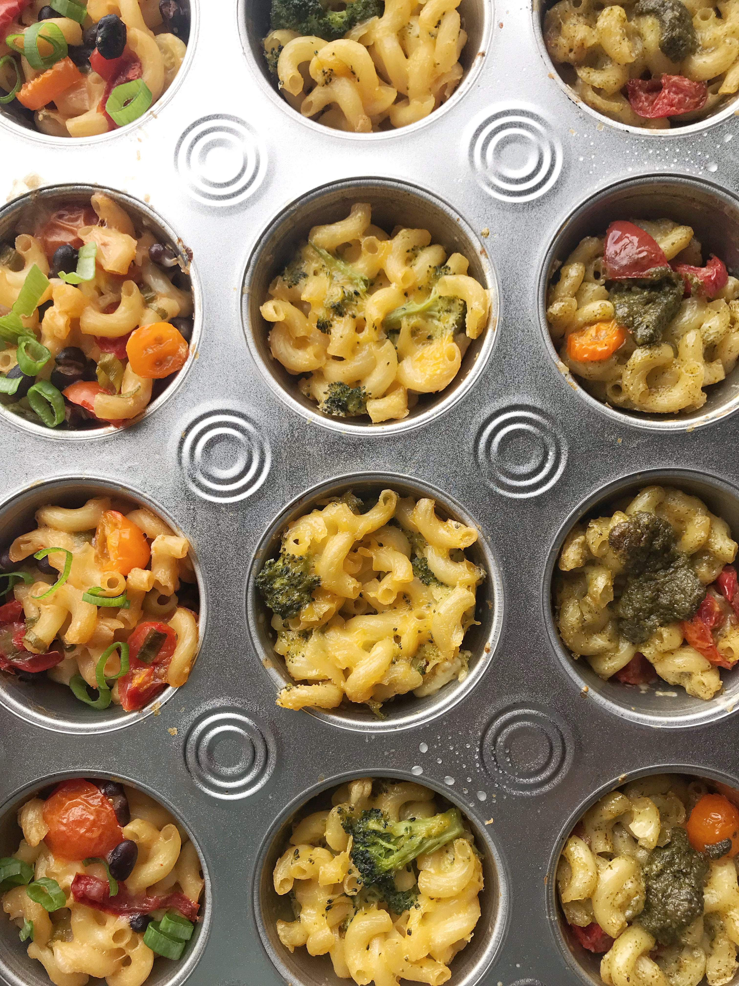 Vegan Mac n Cheese Cups