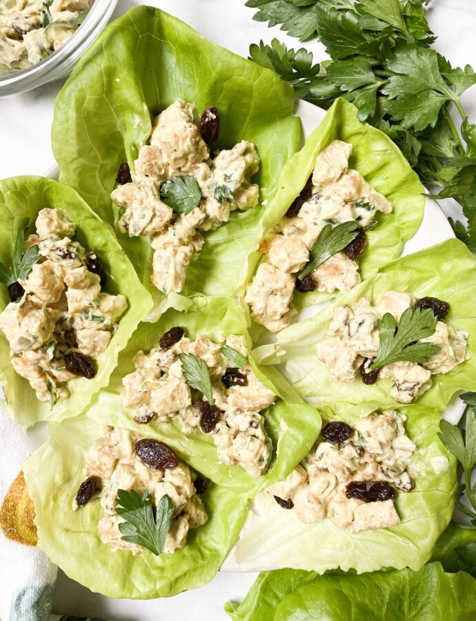Moroccan Inspired Lettuce Cups