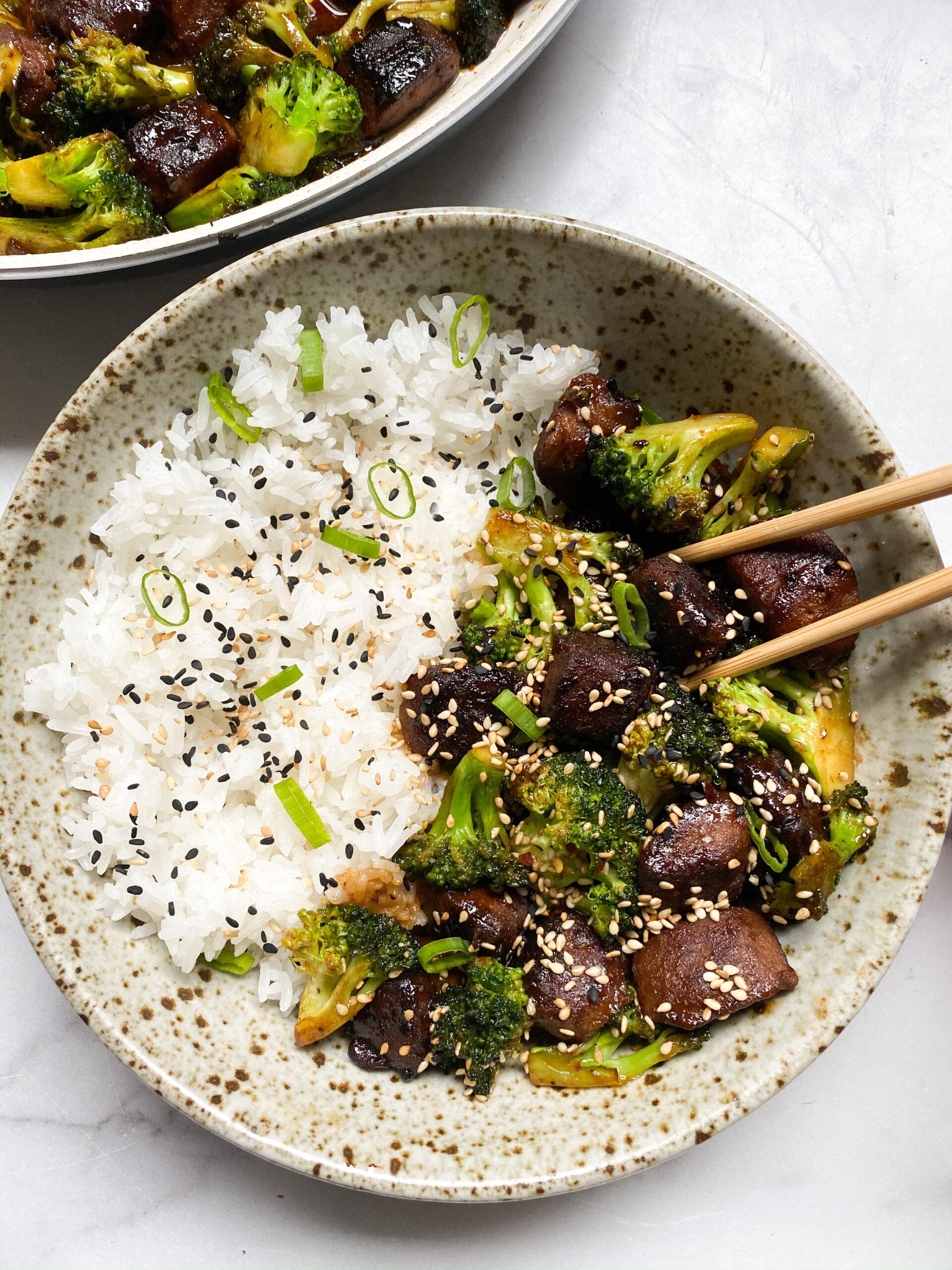 """""""Beef"""" & Broccoli"""