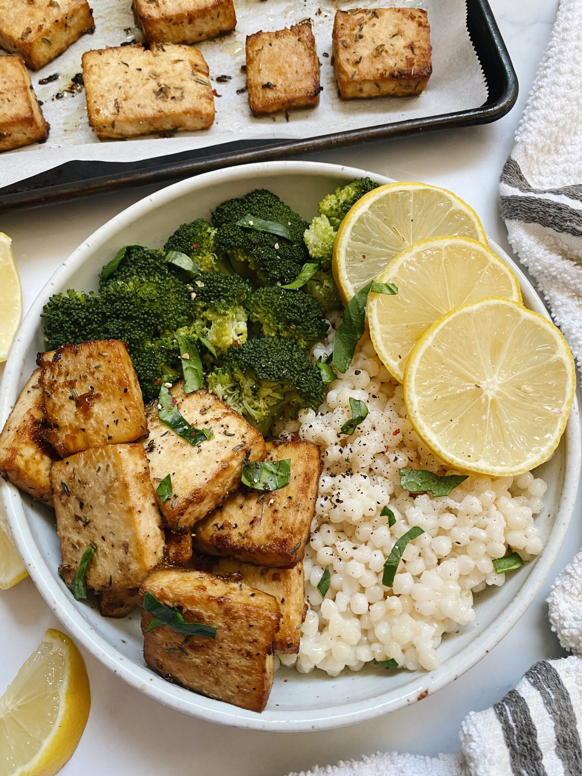 Delicious Baked Tofu