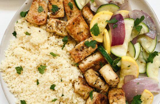 Greek Style Tofu