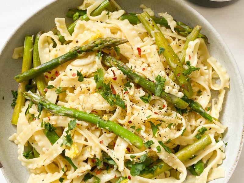 Spring Pasta W/ Asparagus